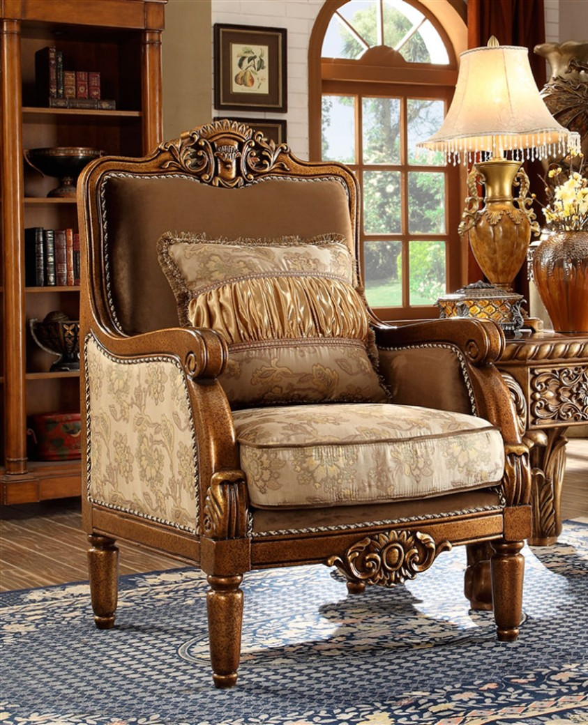 hd 610 homey design upholstery accent chair victorian european