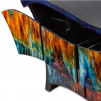 Aico by Michael Amini FS-ILUSN-078 Illusions Cabinet