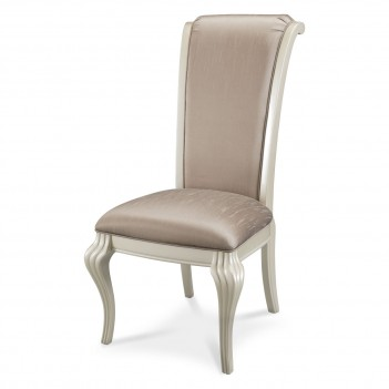 Aico Hollywood Swank Dining Room Side Chair Pearl