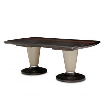 Aico 21 Cosmopolitan Taupe Rectangular Dining Table