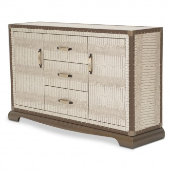Aico Valise Sideboard Amazon Tan Gator