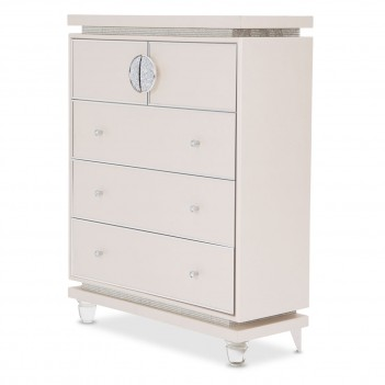 Aico by Michael Amini Glimmering Heights 5 Drawer Chest