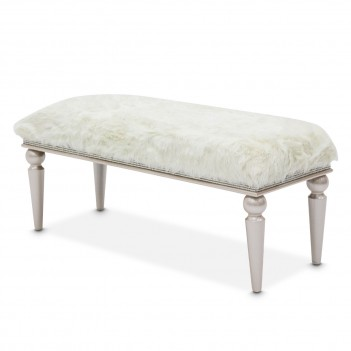 Aico by Michael Amini Glimmering Heights Bed Bench (Non Storage)
