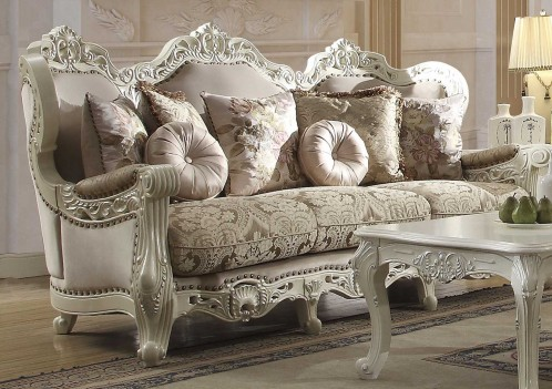 2657 Homey Design upholstery living room set Victorian