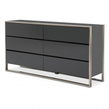 Aico Metro Lights Dresser Midnight