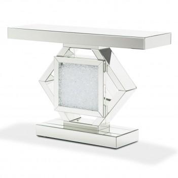 Aico Montreal Mirrored Console Table