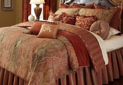 Michael Amini Woodside Park Comforter Bedding Set by Aico