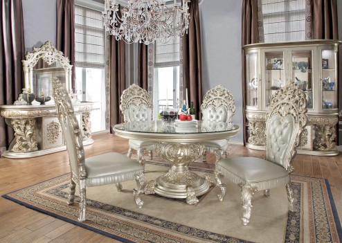 copy of HD 8019 Dining Set Homey Design Victorian, European &