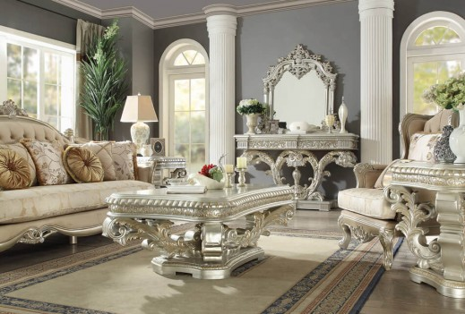 HD 8088 Homey Design Coffee Table Victorian, European & Classic