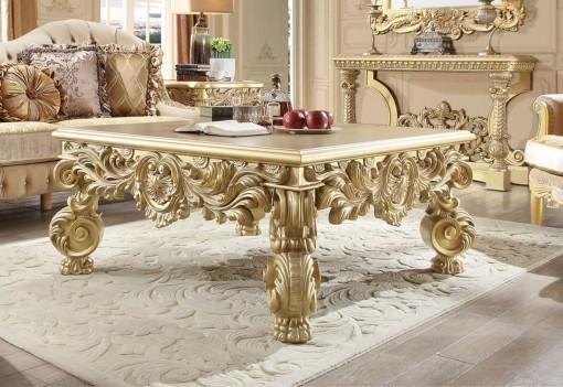 HD 8086 Homey Design Coffee Table Victorian, European & Classic