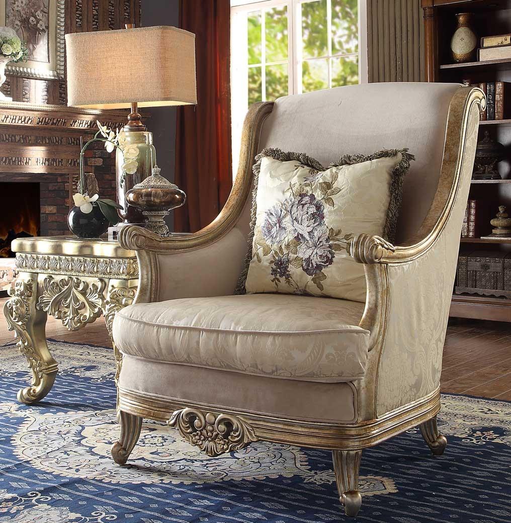 HD 04 Homey Design upholstery living room set Victorian