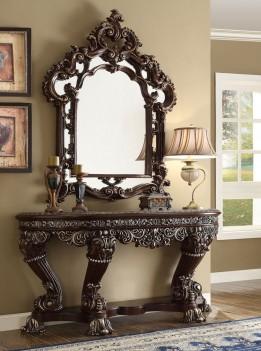 HD 111 Homey Design upholstery living room set Victorian