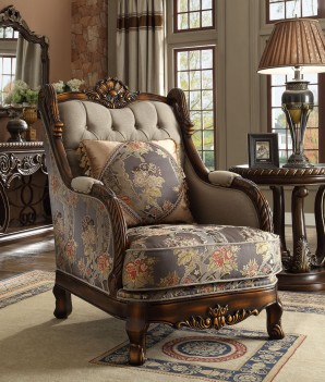 HD 1623 Homey Design upholstery living room set Victorian, European & Classic design Sofa Set