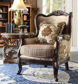 HD 1976 Homey Design upholstery living room set Victorian, European & Classic design Sofa Set