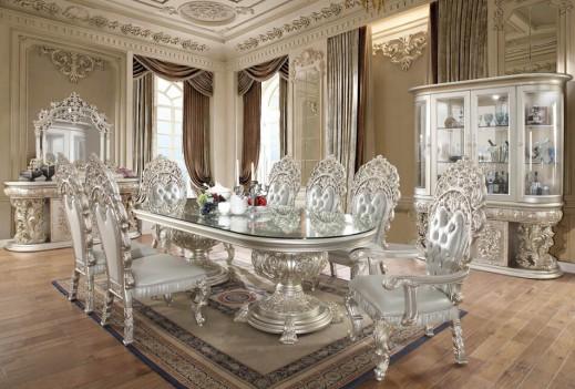 HD 8088 Dining Set Homey Design Victorian, European & Classic