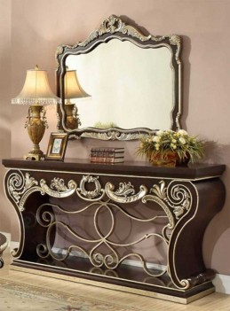HD 213 Homey Design Console Table Victorian, European & Classic design