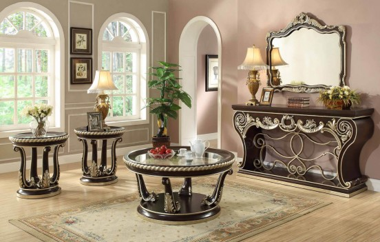 HD 213 Homey Design Occasional Tables Victorian, European & Classic design