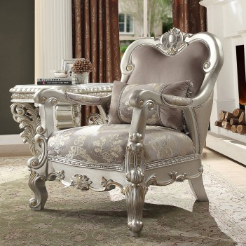 HD 372 Homey Design Accent Chair European Victorian Style