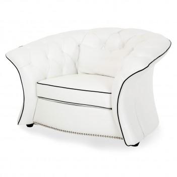 Aico by Michael Amini Mia Bella Molisa Leather Chair