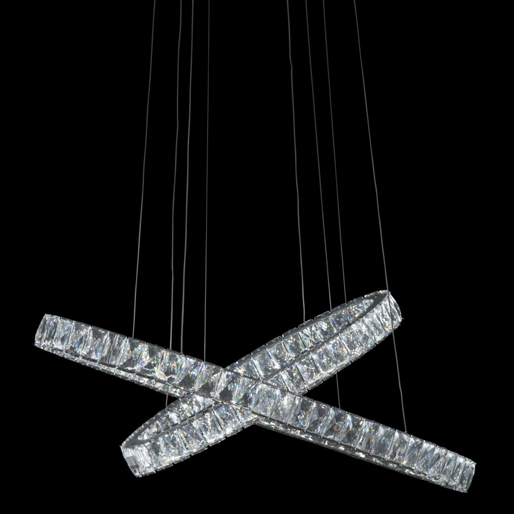 Aico By Michael Amini Lighting Crossover Led Chandelier