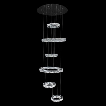 Aico by Michael Amini Lighting Galaxy LED Chandelier