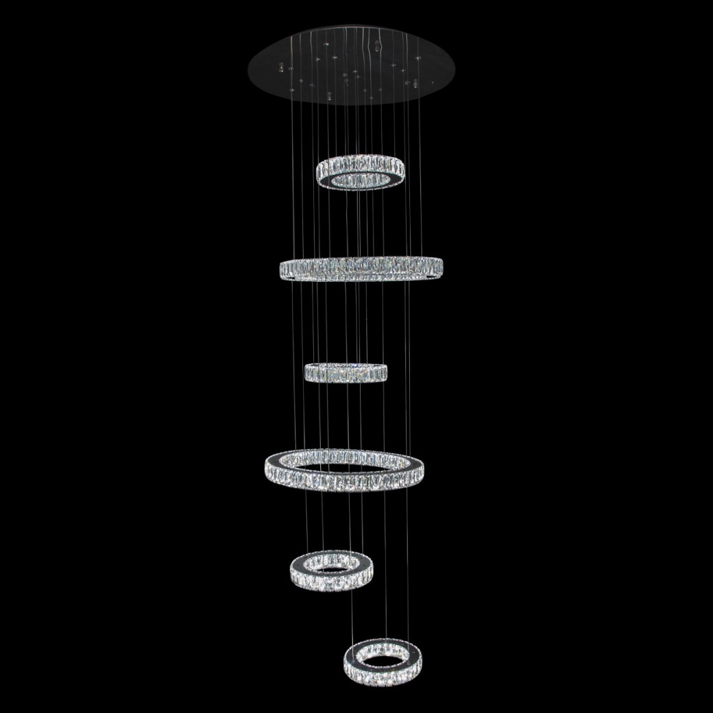 Aico by Michael Amini Lighting Galaxy LED Chandelier