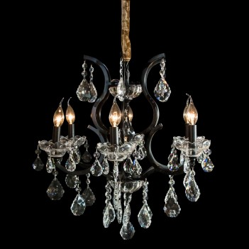 Aico by Michael Amini Beauport 6 Light Chandelier