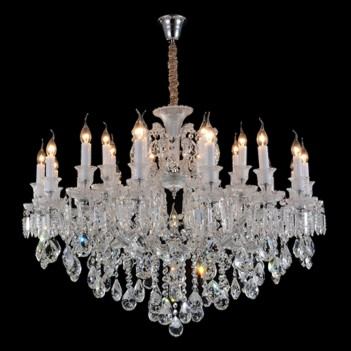 Aico by Michael Amini Lighting Chambord 25 Light Chandelier