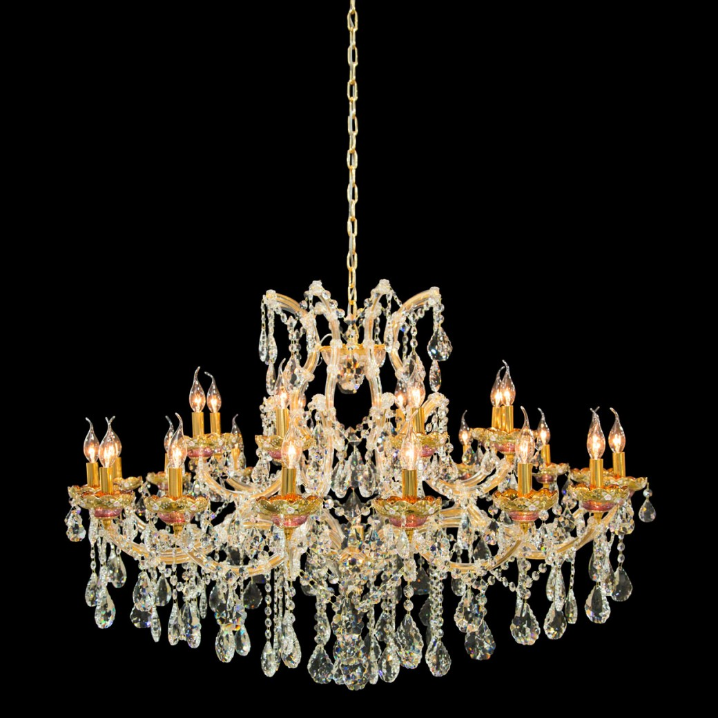 Aico by Michael Amini Lighting Chantilly 25 Light Chandelier