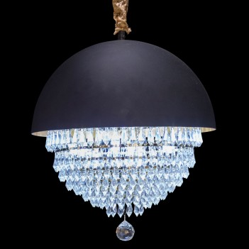 Aico by Michael Amini Lighting eclipse 9 led light chandelier