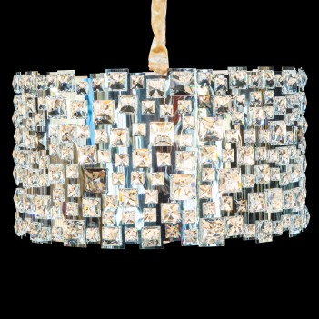 Aico by Michael Amini Lighting facets 6 light chandelier