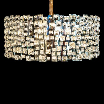 Aico by Michael Amini Lighting facets 9 light chandelier
