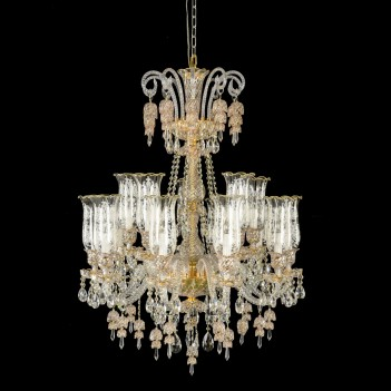 Aico by Michael Amini Lighting Garnier 15 Light Chandelier