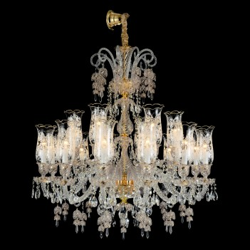 Aico by Michael Amini Lighting Garnier 18 Light Chandelier