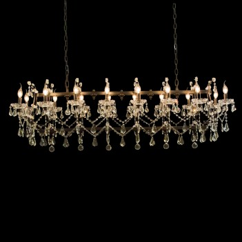 Aico by Michael Amini Lighting gloucester 16 light chandelier