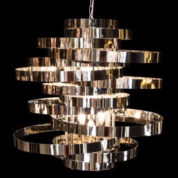 Aico by Michael Amini Lighting hemispheres 8 light chandelier