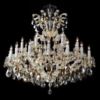 Aico by Michael Amini Lighting La Scala 25 Light Chandelier