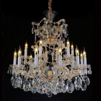 Aico by Michael Amini Lighting La Scala 19 Light Chandelier
