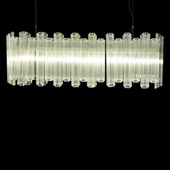 Aico by Michael Amini Lighting octavious rectangular 6 light
