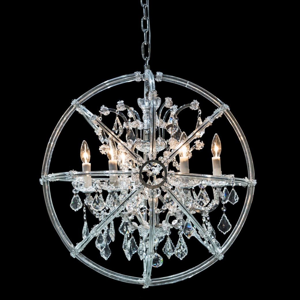 Aico by Michael Amini Lighting Pena 6 Light Chandelier