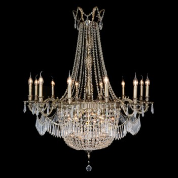 Aico by Michael Amini Lighting Summer Palace 24 Light Chandelier