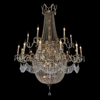 Aico by Michael Amini Lighting Summer Palace 30 Light Chandelier