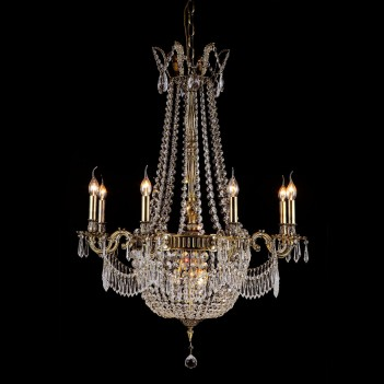 Aico by Michael AminiLighting Summer Palace 11 Light Chandelier