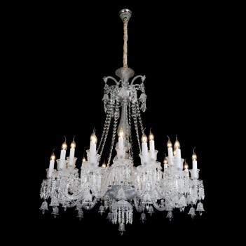Aico by Michael Amini Lighting Treviso 24 Light Chandelier