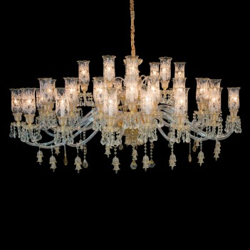 Aico by Michael Amini Lighting vincennes 40 light chandelier