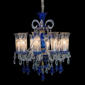 Aico by Michael Amini Lighting Winter Palace 10 Light Chandelier