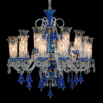 Aico by Michael Amini Lighting Winter Palace 18 Light Chandelier