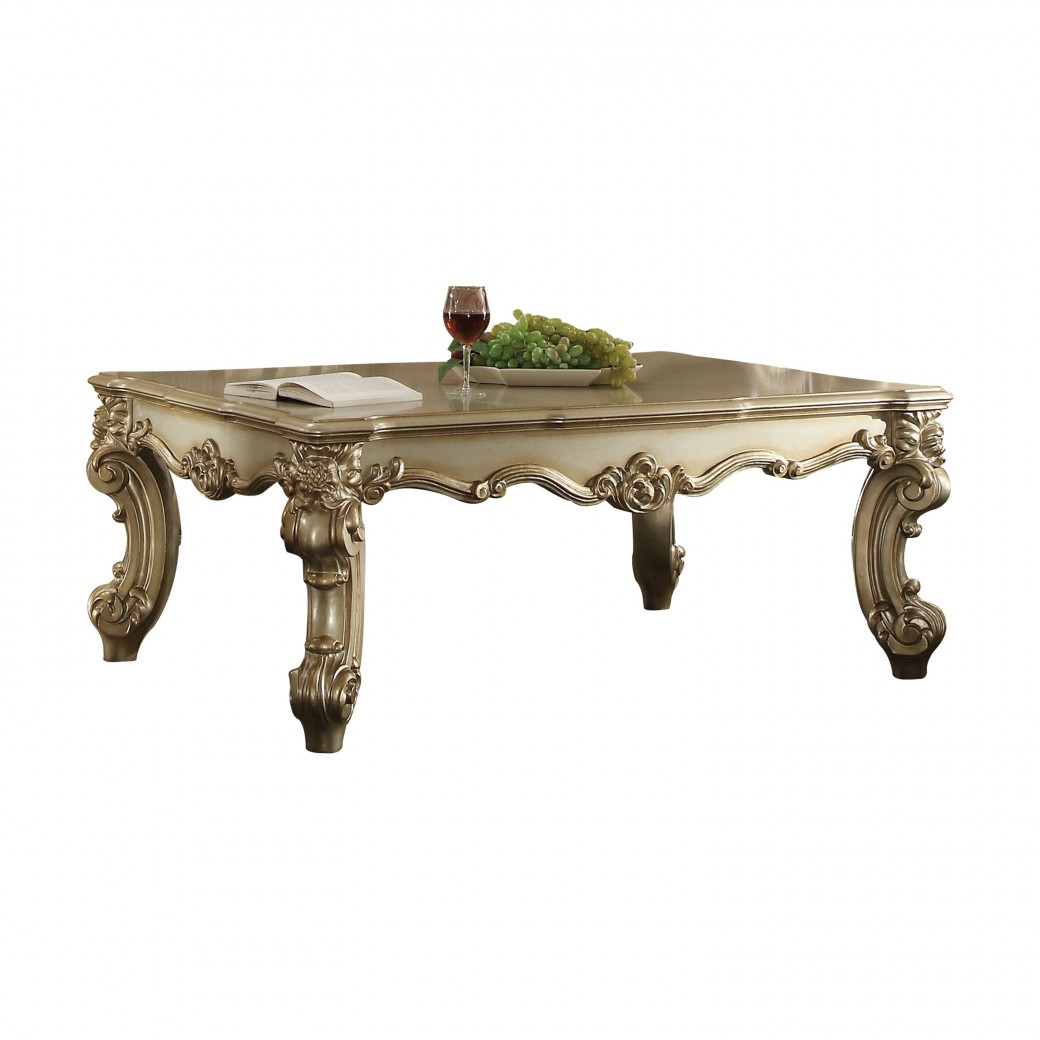 83120 Acme Occasional table Vendome II Collection Gold Patina
