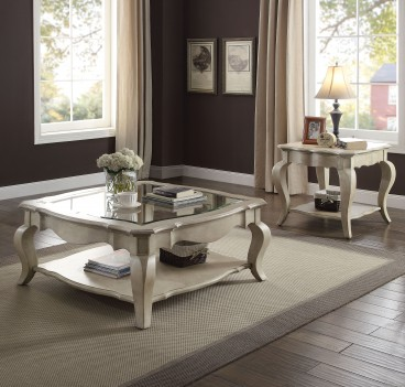 86050 Acme Occasional Tables Chelmsford Collection Antique