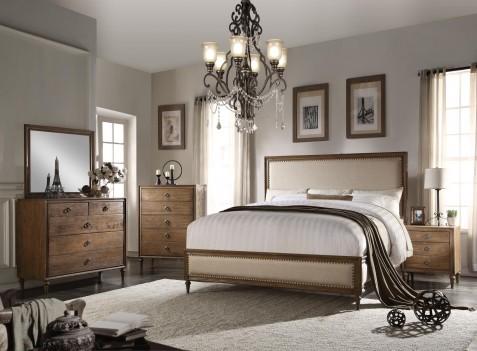 26080 Oak Finish Bedroom...